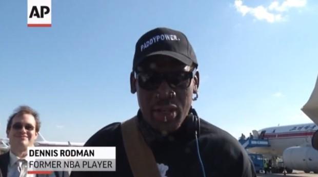 デニス・ロッドマン 北朝鮮