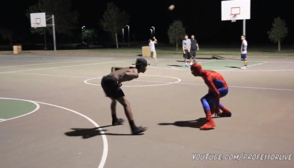 スパイダーマン ストバス