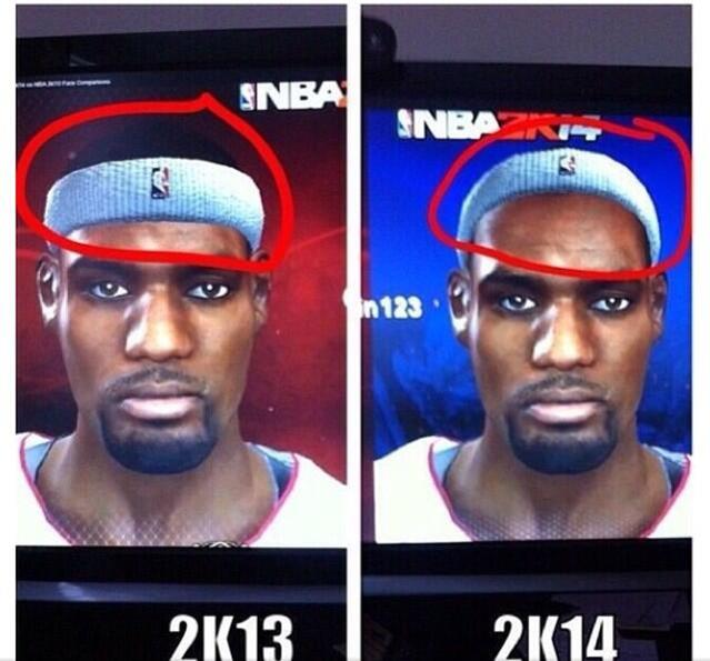NBA 2K14 レブロン