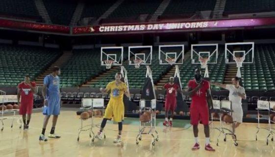 NBA クリスマスソング