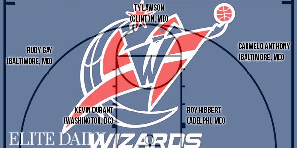 NBA 出身地 ワシントン