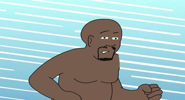 シャック 裸プロレス1