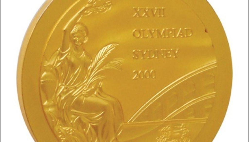 金メダル オークション