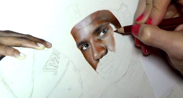 レブロン 肖像画2