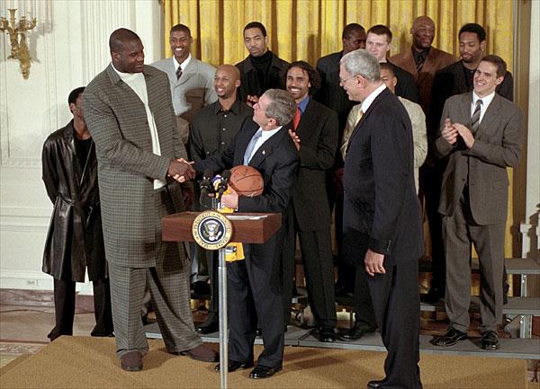 シャック ブッシュ大統領