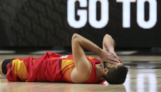 スペイン 敗退