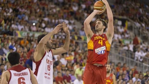 パウ・ガソル FIBA