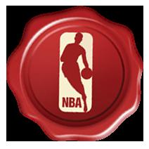 2015年クリスマスユニフォーム NBAロゴ