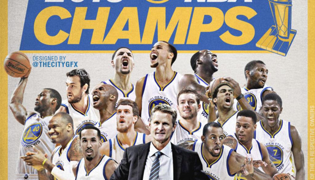 ウォリアーズ 2015年NBA王者