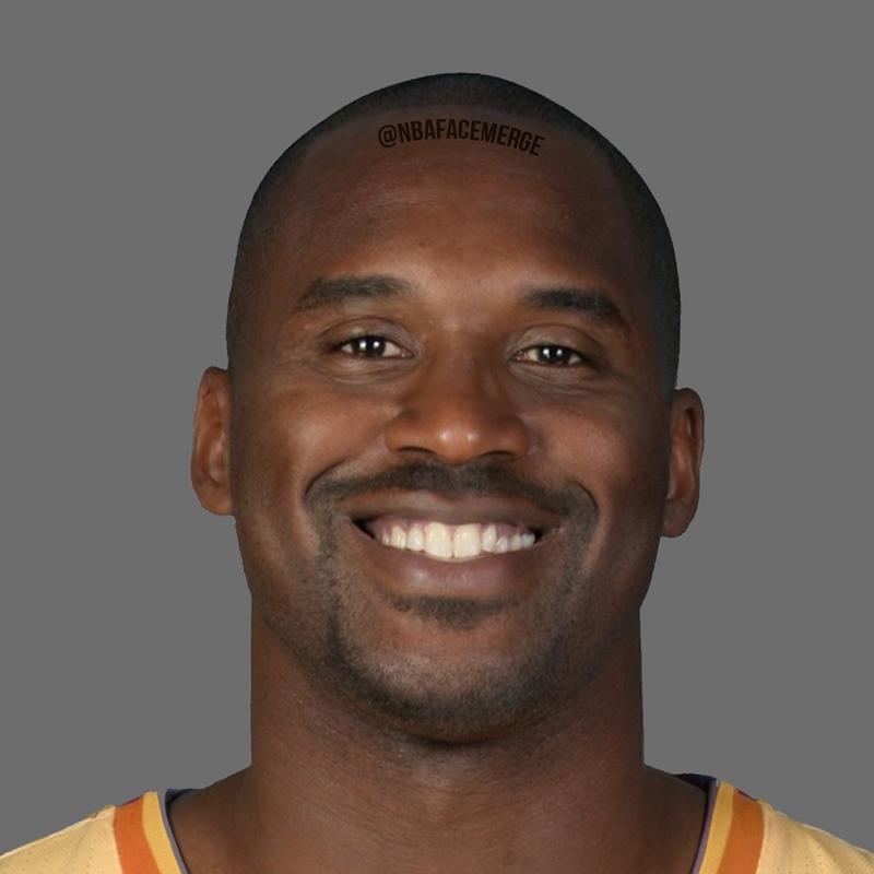 NBA顔写真合成4