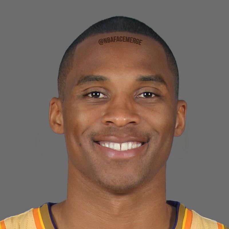 NBA顔写真合成7