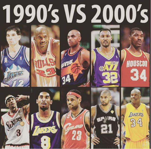 90年代オールスター vs 00年代オールスター