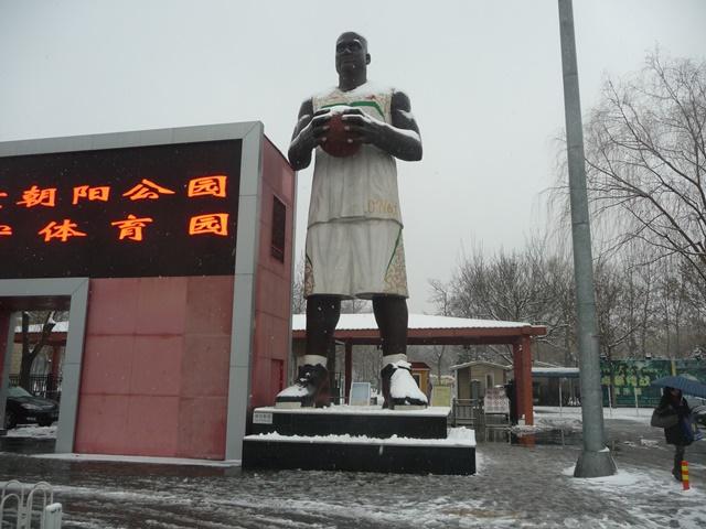 シャキール・オニール像 中国