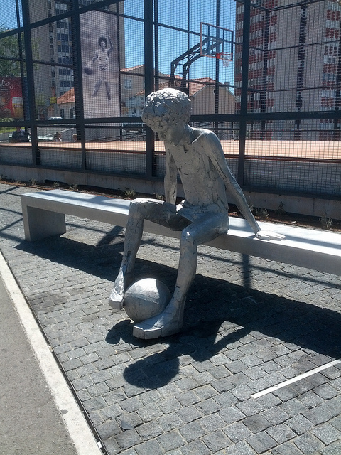 ドラジェン・ペトロヴィッチ像