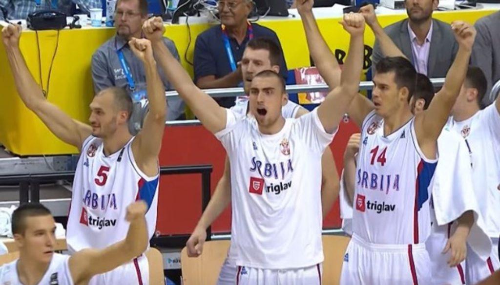 セルビア ドイツ ユーロバスケット2015