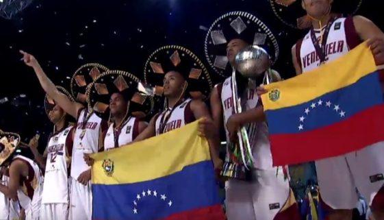 2015 FIBAアメリカ ベネズエラ