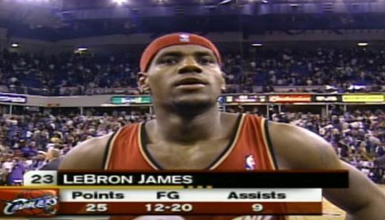 NBA デビュー戦