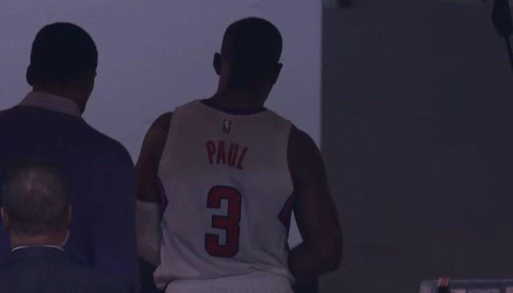 クリス・ポール 負傷