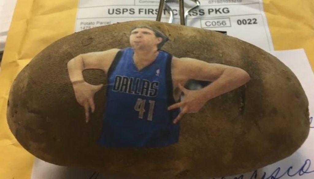 NBA ジャガイモ