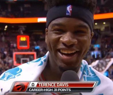 テレンス・デイビス 31得点