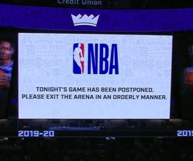 NBA 中断