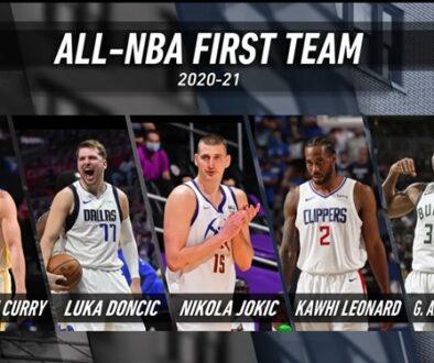 2020-21 オールNBAチーム