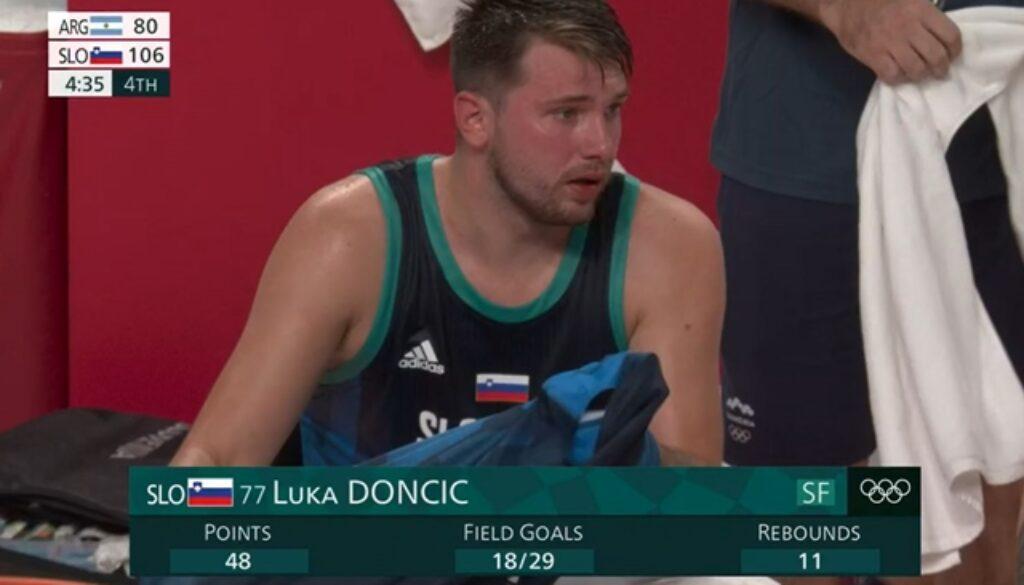 ルカ・ドンチッチ オリンピックデビュー戦